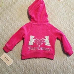 3/$20 Juicy Couture Baby Velour Track Suit